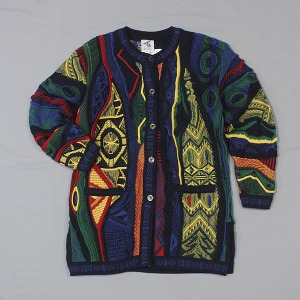 BONZ wool cable cardigan