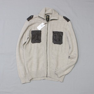 SABI SABI wool knit zip up